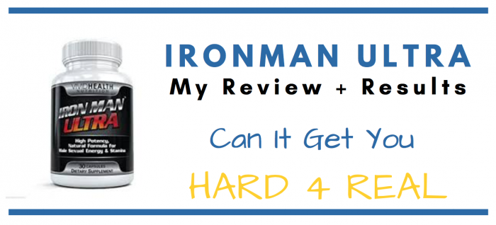 Iron Man Ultra Pills featured product image for consumer review