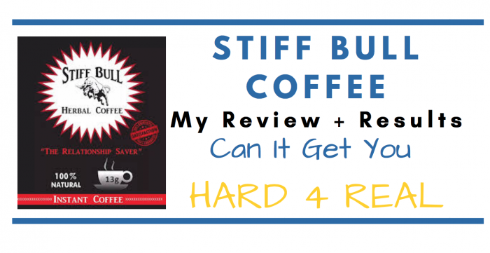 Stiff Bull herbal coffee drink featured image for review article