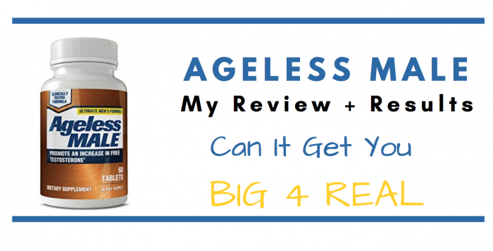 Ageless male pills featured image for review article