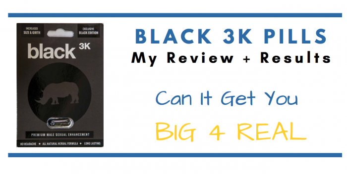 Black 3k pills featured image of packet for consumer review article