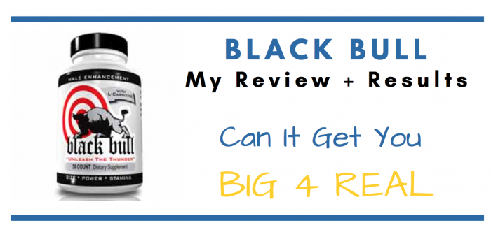 featured image of black bull pills for consumer review article