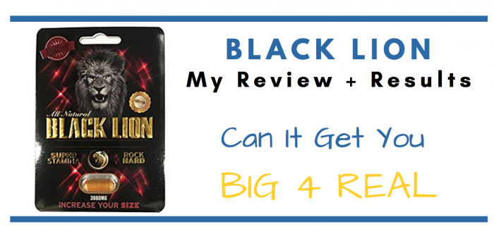 featured image of black lion pills