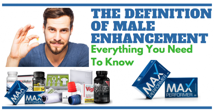 image saying the definition of Male enhancement
