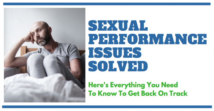 featured image of man having performance issues in the bedroom