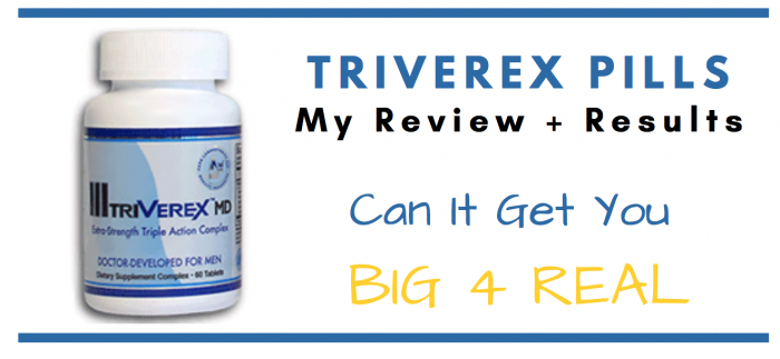 featured image of triverex pills for consumer review article