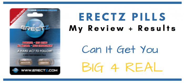 featured image of erectz pills for consumer review article
