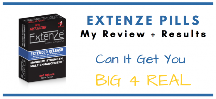 featured image of extenze pills for consumer review