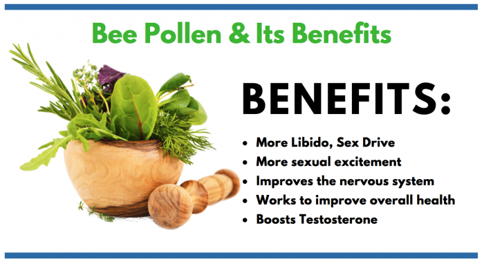 Bee Pollen featured image for article on its use in male enhancement