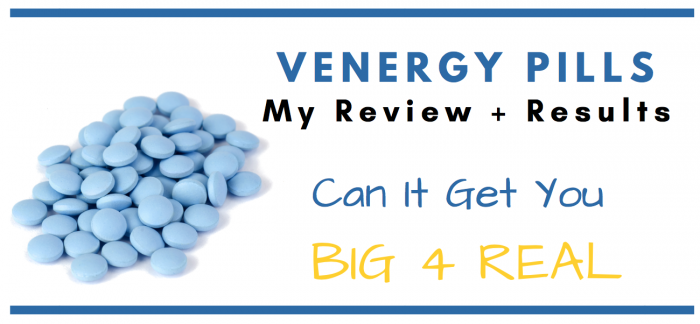 venergy pills featured image