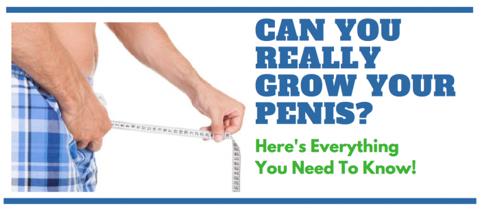featured image for article on growing your penis