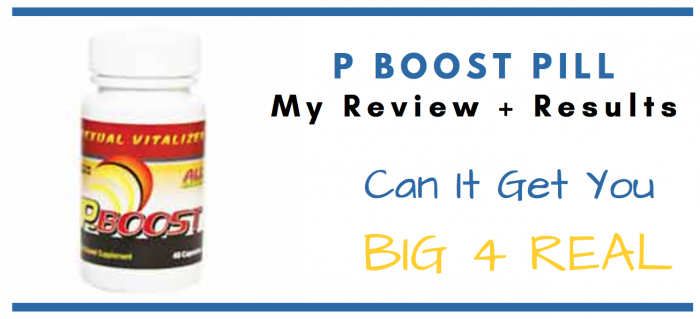 P-Boost Pills featured image